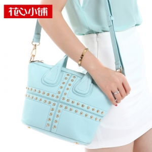 กระเป๋าสะพาย สีฟ้า (Blue Water)-Axixi