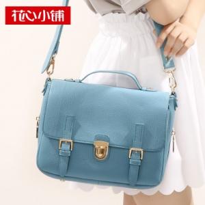 กระเป๋าสะพาย สีฟ้า (Sky Blue)-Axixi