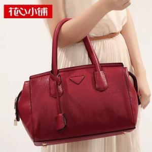 กระเป๋าสะพาย สีไวน์แดง (Burgundy)-Axixi