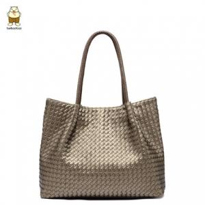 กระเป๋าสะพาย สีทอง-Beibaobao