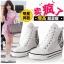 รองเท้าผ้าใบส้นสูง เหมือนแบบ Tiffany snsd 100% งานนำเข้า thumbnail 1