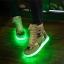 รองเท้า Simulation LED USB LED ลายพราง thumbnail 7