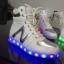 รองเท้า simulation USB Led หุ้มข้อ thumbnail 7