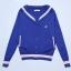 Preorder เสื้อกันหนาว แบรนด์ LUCKY CHOUETTE /Blouson Sailor Collar Jumper Cardiga thumbnail 13