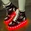 รองเท้า Simulation LED USB LED ลายพราง thumbnail 5