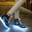 รองเท้า Simulation LED USB LED ลายพราง thumbnail 8