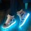 รองเท้า Simulation LED USB LED ลายพราง thumbnail 2