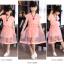 ชุดกระโปรงสีชมพู+ผ้าคาดเอว+สร้อยคอ thumbnail 6