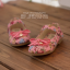 รองเท้าเด็ก ลายดอกไม้ สีชมพู thumbnail 1