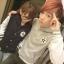 ชุดคู่รักแฟชั่นสไตล์เกาหลี เป็นเสื้อเเขนยาว น่ารักๆ สีเทา thumbnail 1