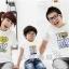 เสื้อครอบครัวแฟชั่นสไตล์เกาหลี ใส่ทั้งครอบครัวดูน่ารัก (3 ชุด) thumbnail 1