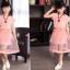 ชุดกระโปรงสีชมพู+ผ้าคาดเอว+สร้อยคอ thumbnail 5