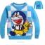 เสื้อกันหนาว Doraemon สีฟ้า thumbnail 1
