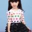 เสื้อแขนยาว สีชมพู คอระบายลูกไม้ thumbnail 3