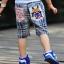 กางเกงขาสี่ส่วน Levis ลายตารางขาวน้ำเงิน thumbnail 5