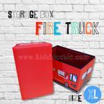 กล่องเก็บของพับได้สุดชิค STORAGE FIRE TRUCK ไซส์ XL