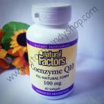 Natural Factors, Coenzyme Q10, Enhanced Absorption, 100 mg, 60 Softgels