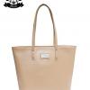 กระเป๋า Patola รุ่น M totebag หนังด้านpu สีเนื้อ