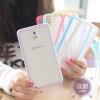 Sumsung Note 3 ซิลิโคนใส PC+TPU ขอบสีสวย ราคาถูกๆ คลิ๊กเลย