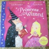 The Princess and the Wizard (With Glitter on Every Page) (Flat Picture Book)