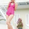 bikini7009 ชุดว่ายน้ำดีไซน์น่ารักสดใส ใส่ยัไงก็ไม่โป๊