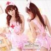 940 ชุดพยาบาลสีชมพูมาใหม่ โชว์พยาบาลสาวเซ็กซี่ด้านหลัง พร้อมหมวกพยาบาล ครบชุด พร้อมตรวจคนไข้ค่ะ (ฟรีไซส์)