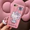Hello Kitty มีสายคล้องคอ iPhone 6 Plus/ 6S Plus