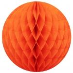 15 cm. โคมรังผึ้ง ส้ม