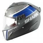 Shark RACE-R PRO CARBON Racing Divis MAT/BRI Anthracite Blue White