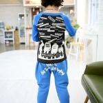 กางเกงขายาว สีฟ้า