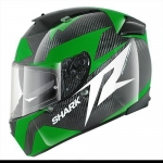 Shark Speed-R - Carbon Skin Series2 - Run - Green