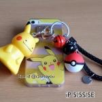 TPU Jelly Pokemon iPhone 5/5S/SE