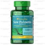 Puritan Saw Palmetto 320 mg 120 softgels (USA) มีฤทธิ์ยับยั้งการทำงานของ DHT สำหรับผู้ที่มีปัญหาผมร่วงจากกรรมพันธุ์ (โดยไม่ลดสมรรถภาพทางเพศ)