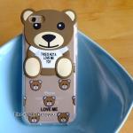 เคสน้องหมี 2D iPhone 5/5S/SE