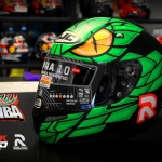 HJC Rpha10 plus Green Mamba (Lorenzo)
