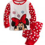 jumping beans ลาย Minnie mouse สีแดง