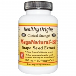 Healthy Origins, MegaNatural-BP Grape Seed Extract, 300 mg, 60 Capsules