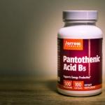 Jarrow Formulas, Pantothenic Acid B5, 500 mg, 100 Capsules ( วิตามิน บี5 )
