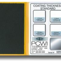 Coating Thickness Standard (แผ่นสอบเทียบความหนา)