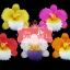 เทียนหอมลอยน้ำดอกแคทลียา แพ็คถุงแก้ว ผูกเชือกพร้อมใบไม้ thumbnail 2