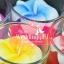 เทียนหอมดอกลีลาวดีบรรจุในแก้วใส แพ็คถุงแก้ว ผูกเชือกพร้อมใบไม้ thumbnail 2