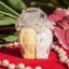 กระปุกใส่พริกไทย เซรามิค หัวใจคู่ แพ็คถุงฟูกากเพชร thumbnail 1