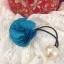 ที่รัดผมดอกกุหลาบสีฟ้า thumbnail 1