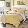 (Pre-order) ชุดผ้าปูที่นอน ปลอกหมอน ปลอกผ้าห่ม ผ้าคลุมเตียง ผ้าฝ้ายพิมพ์ลายดอกไม้สไตล์วินเทจ