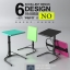 (Pre-order) โต๊ะทำงานปรับระดับ โต๊ะคอมพิวเตอร์ปรับระดับ โต๊ะคอมพิวเตอร์เคลื่อนไป โต๊ะทำงานเคลื่อนที่สีดำ thumbnail 2