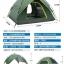 (พรีออเดอร์) Pre-order เต็นท์สนาม สำหรับนักท่องเที่ยว เต็นท์แคมป์ปิ้งกันน้ำได้ กันลมได้ แบบ 2 ประตู หลังคา 2 ชั้น โครงหลังคาแยก สีเขียว มีเสื่อปูพื้น thumbnail 2