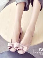 รองเท้าคัชชูสีชมพู หัวตัดผ้าซาติน แต่งโบร์ แบบสวย ใส่ง่าย ใส่สบาย เเมตชุดได้เยอะ หัวตัดหน้ากว่าง เท้าบาน เท้าอูม ใส่ได้ค่ะ ทรงสวย เก็บทรงเท้าดีมาก