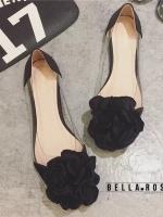 รองเท้าคัชชูสีดำ style Bella Rose เป็นพลาสติกแบบใส งานนิ่มไม่บีดเท้านะค่ะ ประดับด้วยดอกไม้ผ้าซาติน เก๋ๆน่ารักๆใส่ง่ายแบบนี้ห้ามพลาดเลยนะค่ะ ใส่กระชับ น้ำหนักเบา