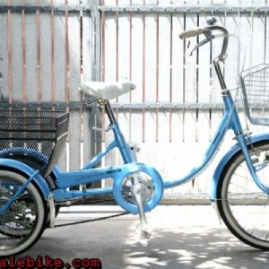 """จักรยานสามล้อ Bridgestone ล้อหน้า20""""หลัง16"""""""