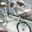 จักรยานแม่บ้าน ตระกร้าเด็ก Marukin ล้อ24นิ้ว 3เกียร์ ราคา 6,500บาท thumbnail 4